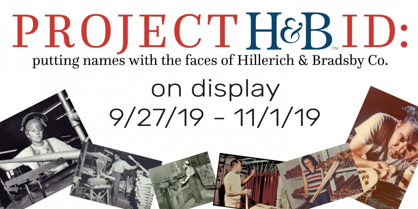 Project H&B ID: putting names with the faces of Hillerich & Bradsby Co.