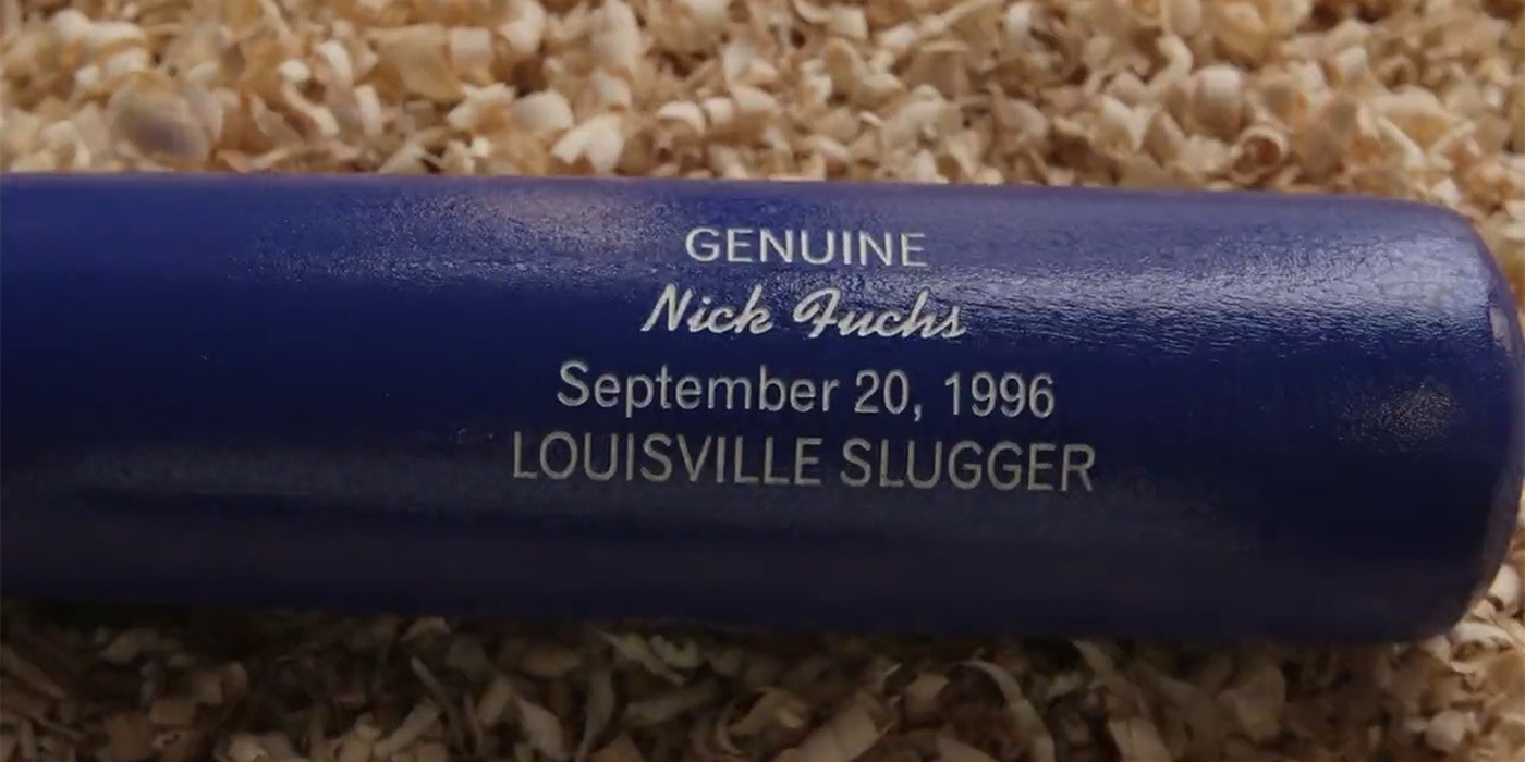 Personalize a bat louisville slugger museum factory 5 photos negle Choice Image